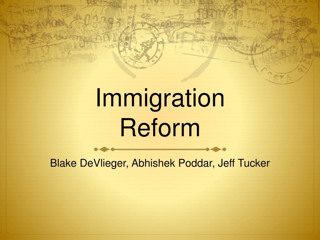 immigration reform l.