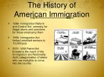 the history of american immigration7