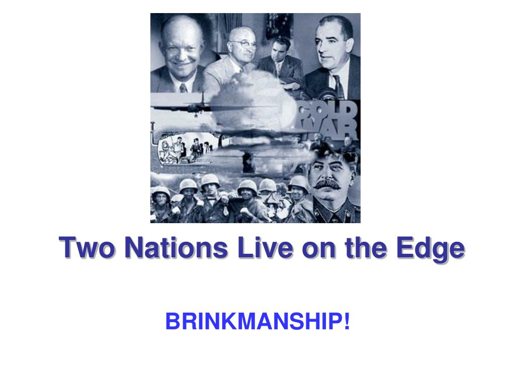 two nations live on the edge l.