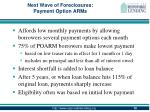 next wave of foreclosures payment option arms