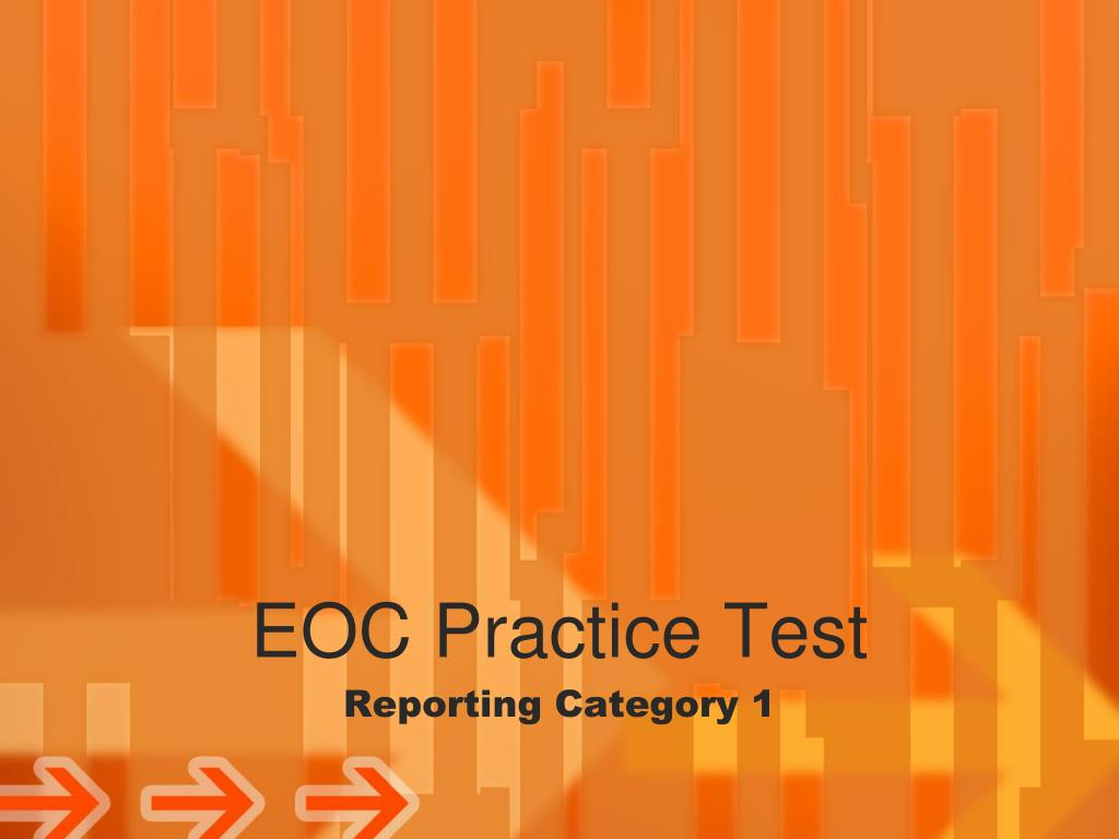 EOC Practice Test