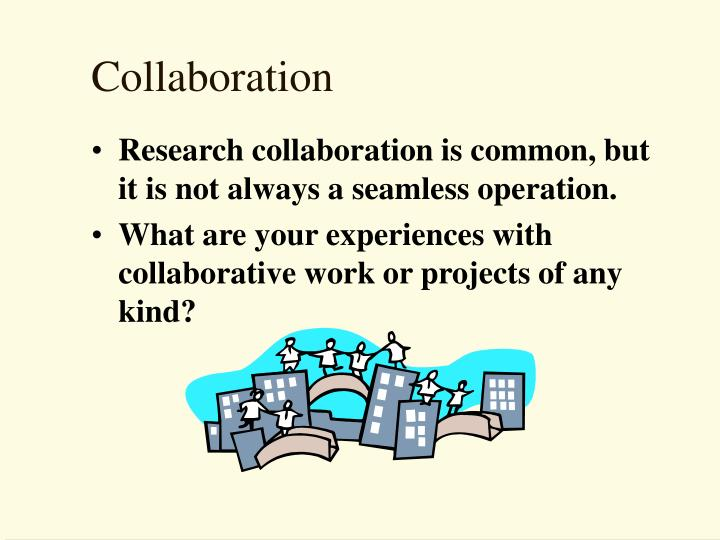 collaboration n.