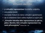 virtu ln identita8