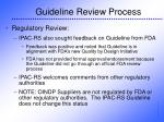 guideline review process20