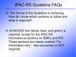 ipac rs guideline faqs28