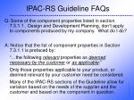 ipac rs guideline faqs32