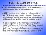 ipac rs guideline faqs33