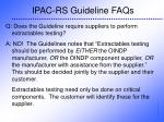 ipac rs guideline faqs34