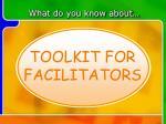 toolkit for educators