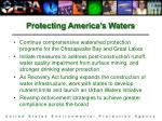 protecting america s waters