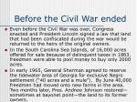 before the civil war ended