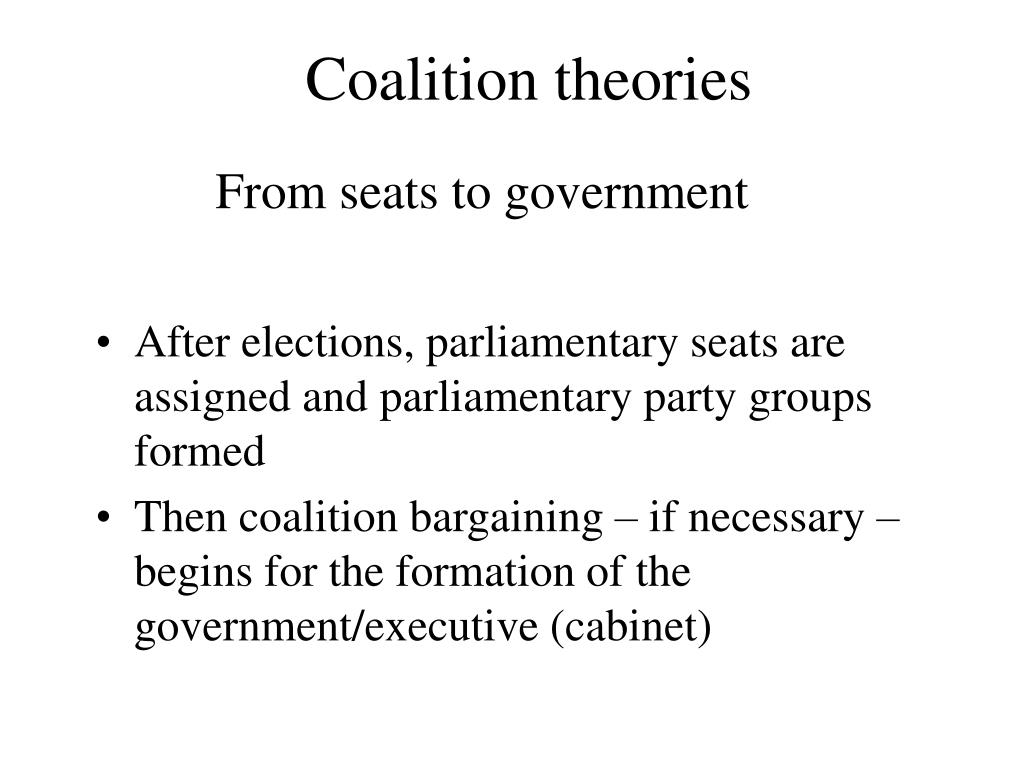coalition theories l.