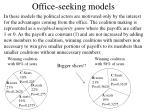 office seeking models
