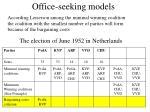 office seeking models10
