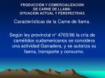 produccion y comercializacion de carne de llama situacion actual y perspectivas7