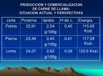 produccion y comercializacion de carne de llama situacion actual y perspectivas8