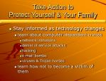 take action to protect yourself your family