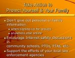 take action to protect yourself your family14
