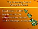 the increasing cost of computer crime