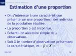 estimation d une proportion