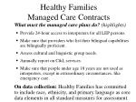 healthy families managed care contracts51