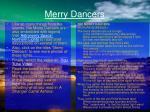 merry dancers