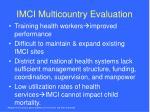 imci multicountry evaluation