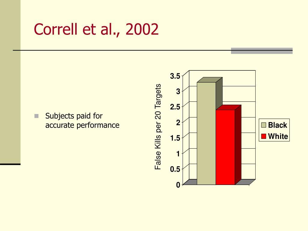Correll et al., 2002