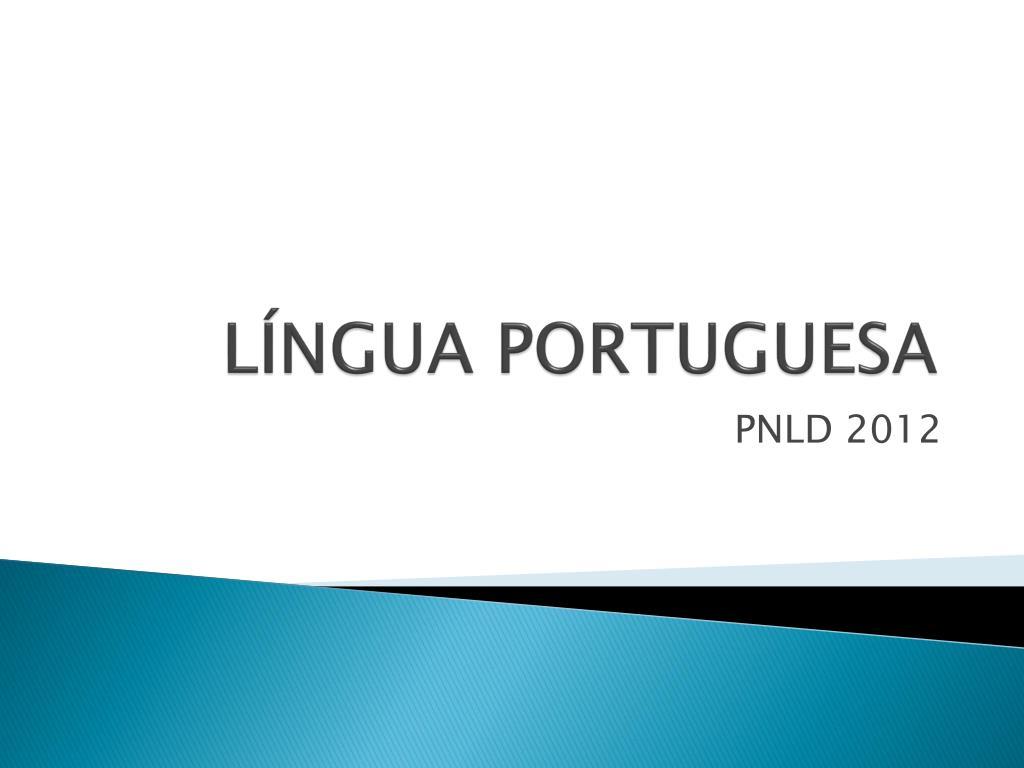 l ngua portuguesa l.