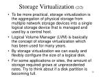 storage virtualization 2 2