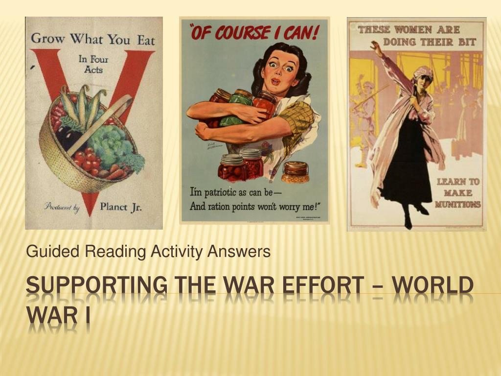 guided reading activity answers l.