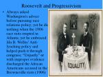 roosevelt and progressivism