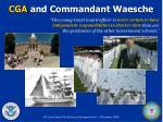 cga and commandant waesche