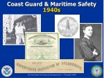 coast guard maritime safety 1940s