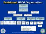 envisioned uscg organization