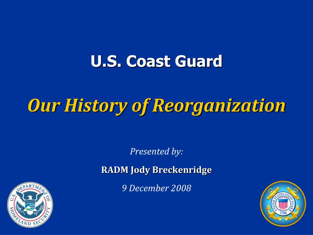 presented by radm jody breckenridge 9 december 2008 l.