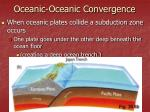 oceanic oceanic convergence