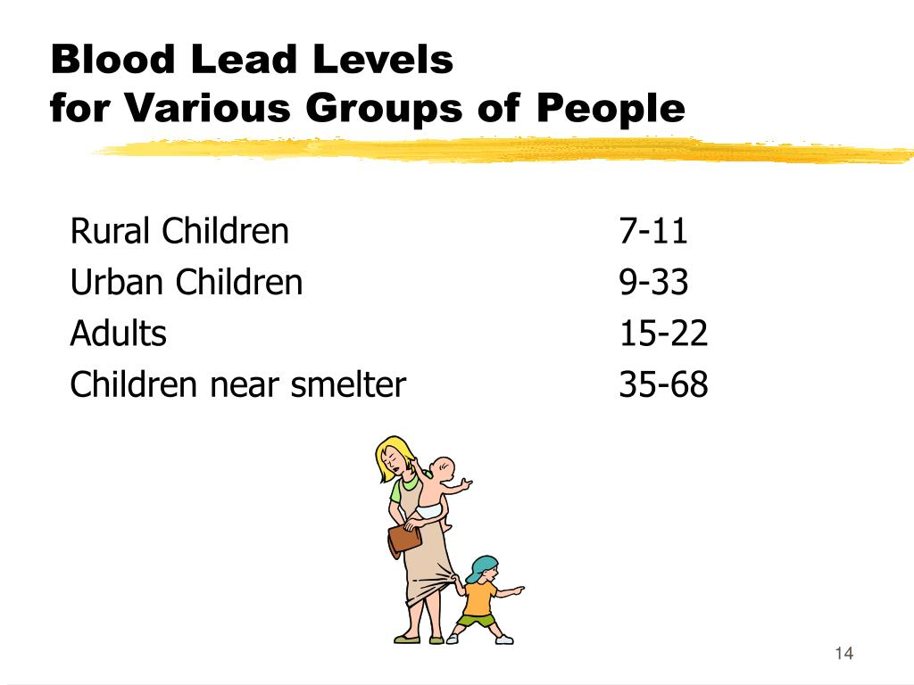 Blood Lead Levels