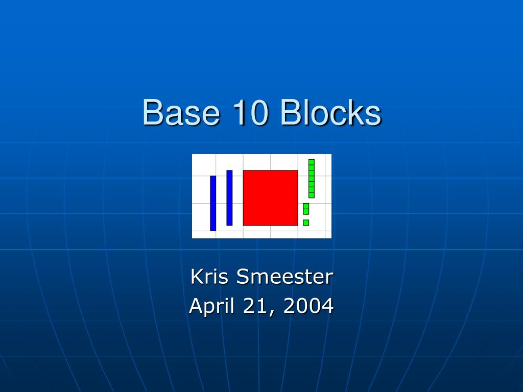 base 10 blocks l.