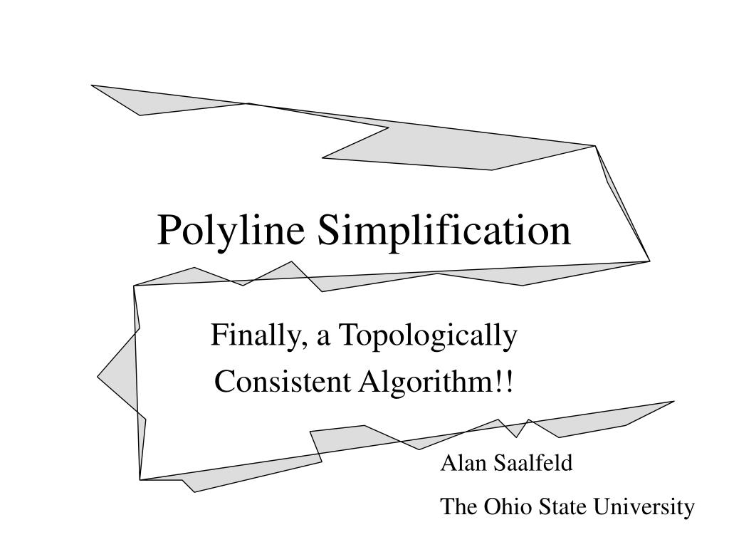 polyline simplification l.