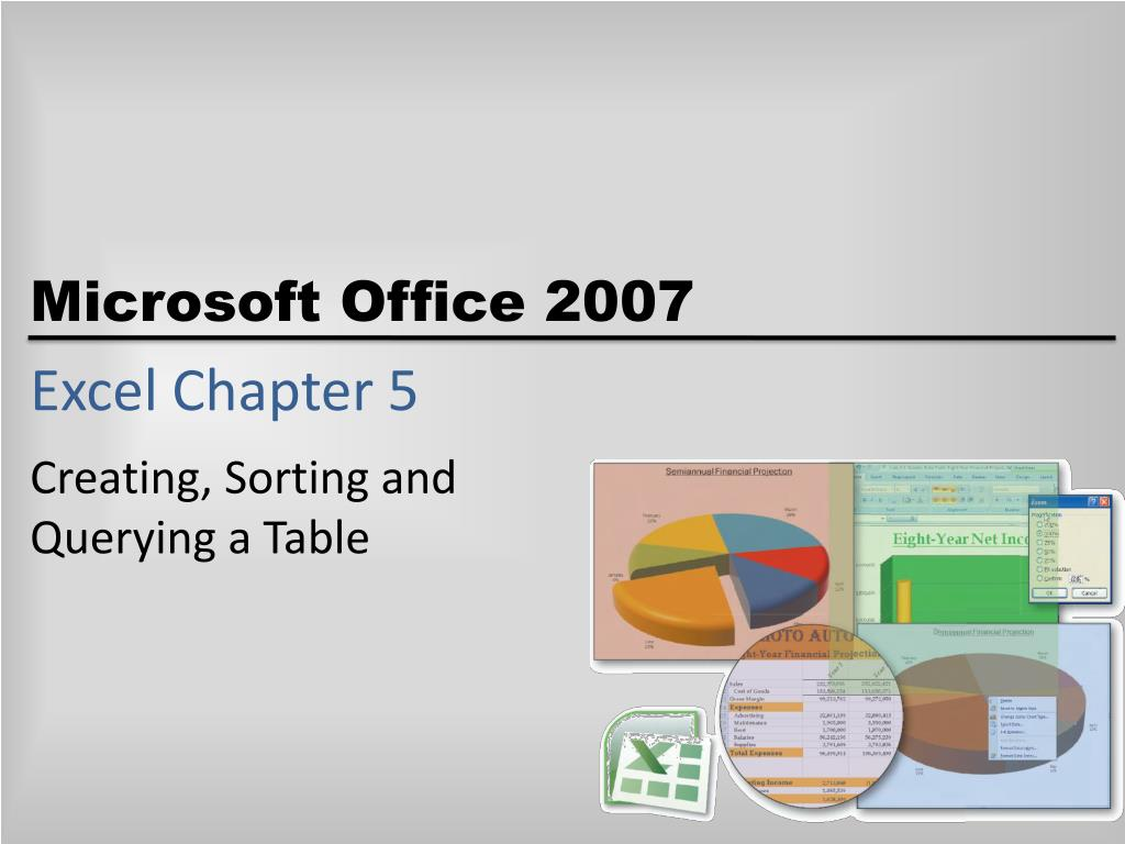 excel chapter 5 l.