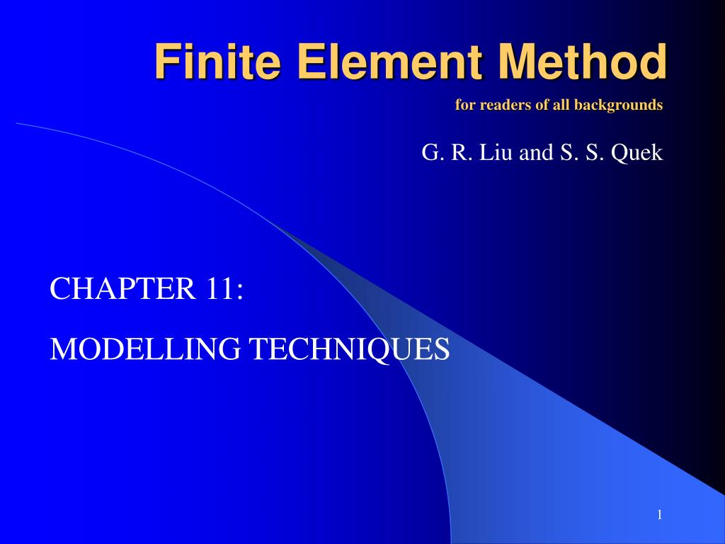 f inite element method l.