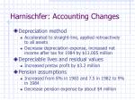 harnischfer accounting changes