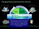 managing physical and virtual server lifecycles
