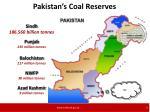 pakistan s coal reserves