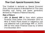thar coal special economic zone