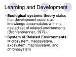 learning and development8