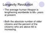 longevity revolution