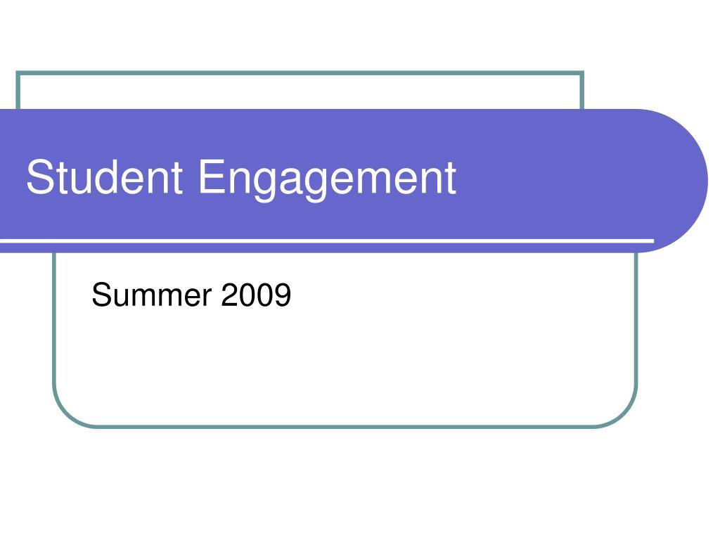 student engagement l.