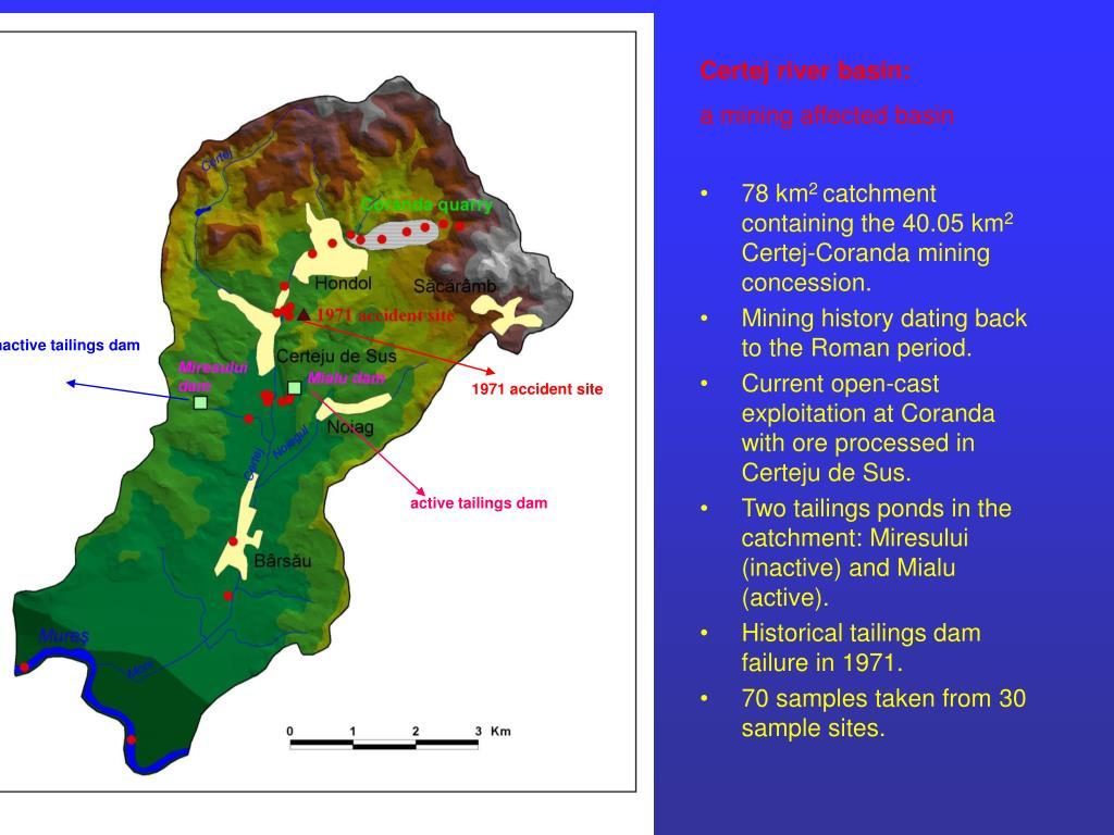 Certej river basin: